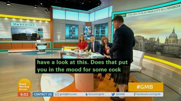 'Good Morning Britain' Suffers The Definition Of A Subtitle
