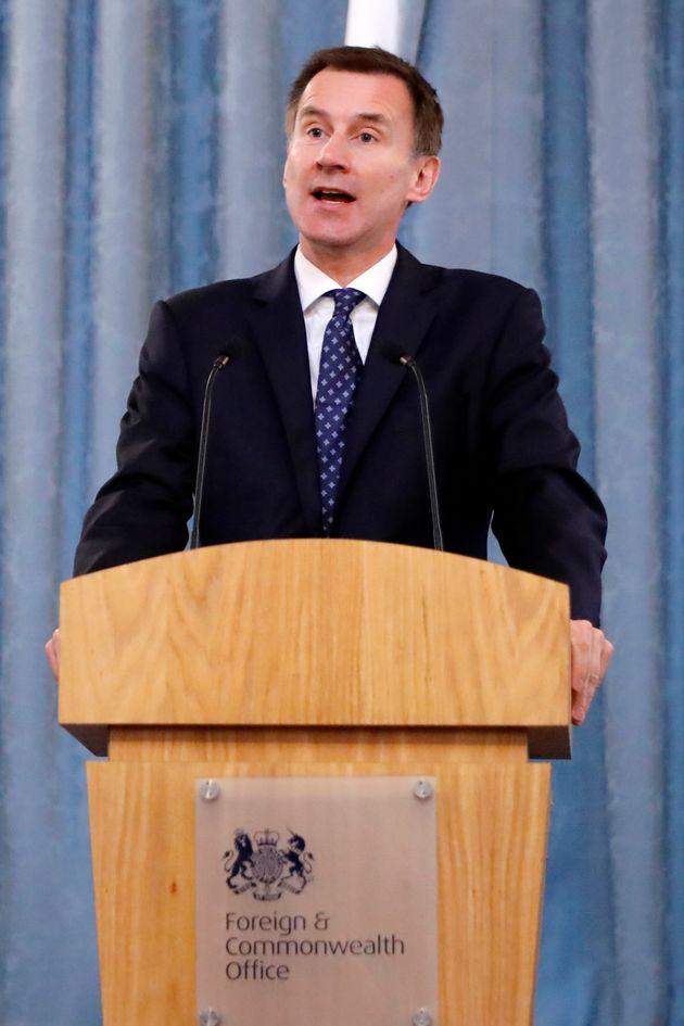 Foreign secretary Jeremy