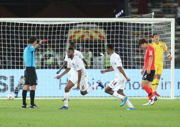 [아시안컵]물거품 된 4강 진출, 한국 카타르에 0-1