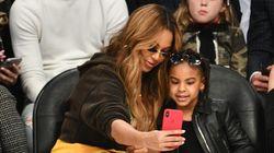 Beyoncé partage une adorable photo d'elle et sa fille au même