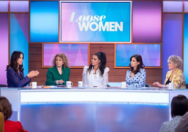 Katie opened up to the 'Loose Women'