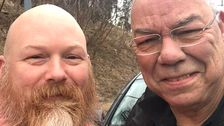 Now Colin Powell Has A Hero ― A Vet Who Helped Him Change Blown Tire