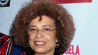 Angela Davis attends Los Angeles Premiere of ???Free Angela and All Political Prisoners??? at Pan African Film Festival at Rave Cinemas Baldwin Hills on Sunday, Feb. 17, 2013 in Los Angeles, California.  (Photo by Arnold Turner/Invision/AP)