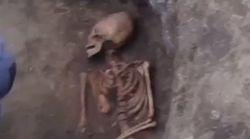 Αρχαίο σκελετό γυναίκας με «περίεργο» κρανίο βρήκαν αρχαιολόγοι στη