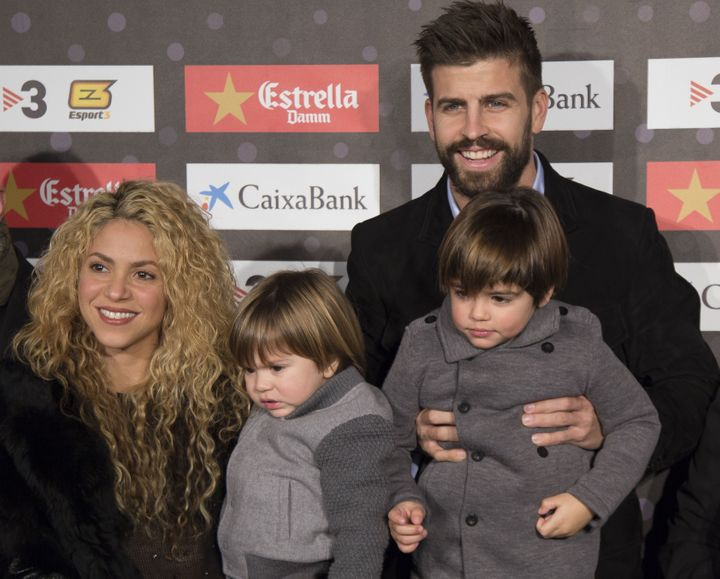 """""""We're both very hands-on parents, so it never feels like one is carrying the entire load on their own,"""" Shakira said of her partner."""