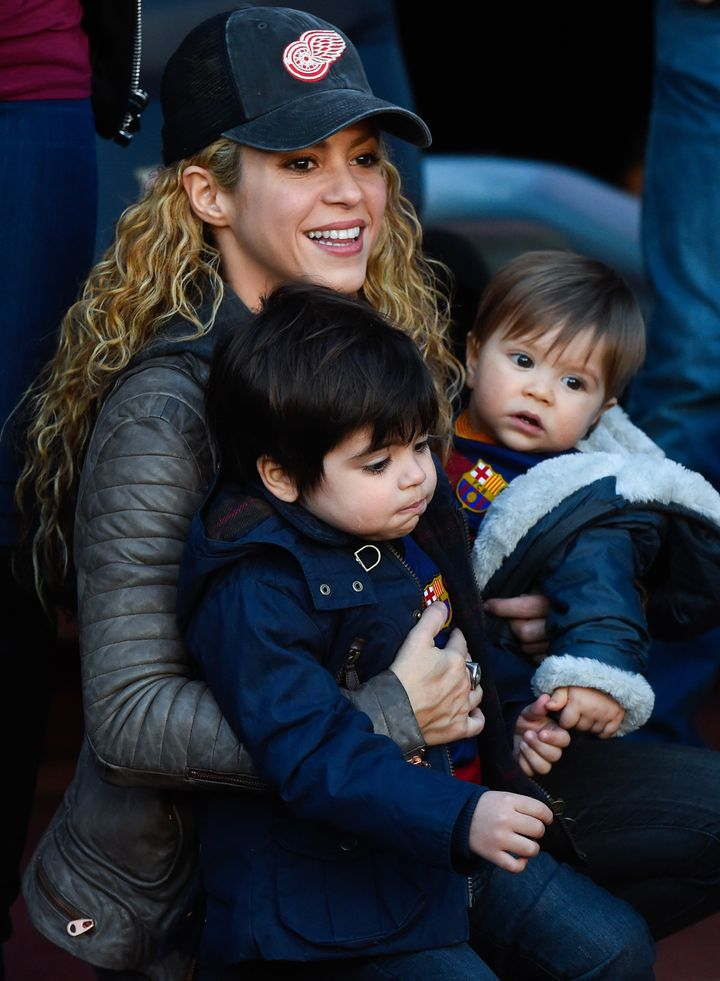 Shakira has been open about the challenges and joys of motherhood.