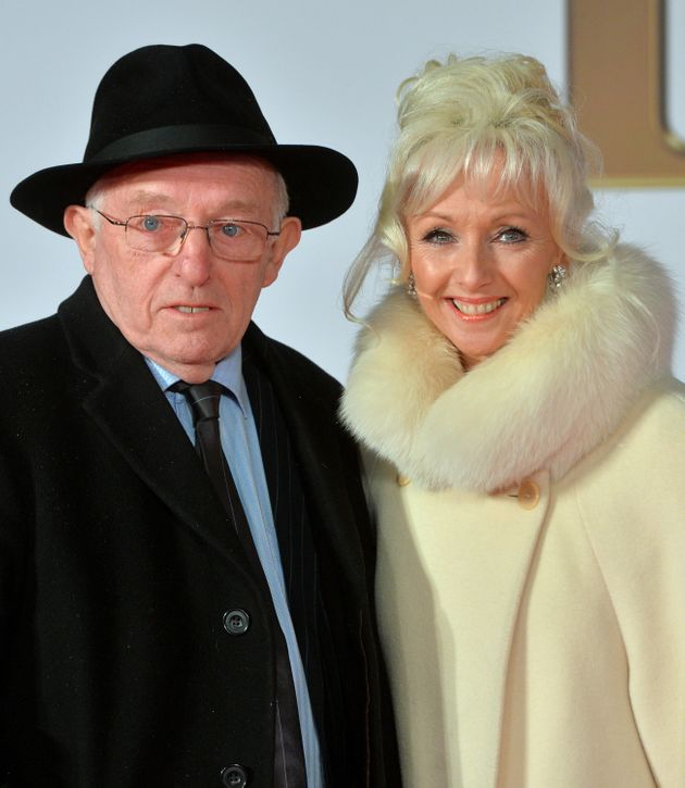 Debbie with her late husband, Paul