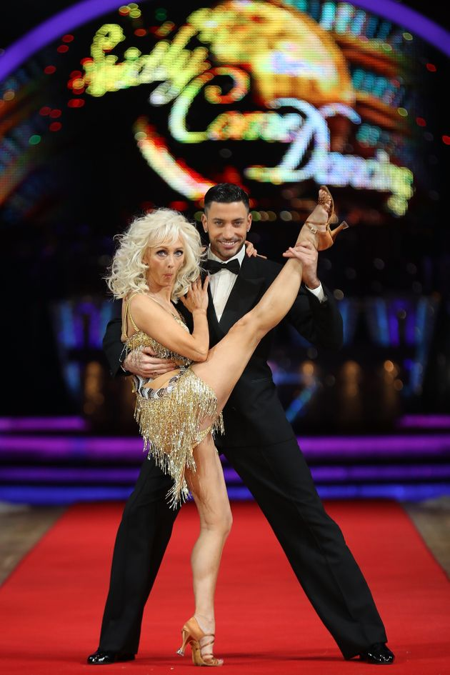 Debbie was partnered with Giovanni Pernice on 'Strictly' in