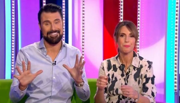 'The One Show' hosts Rylan Clark-Neal and Alex