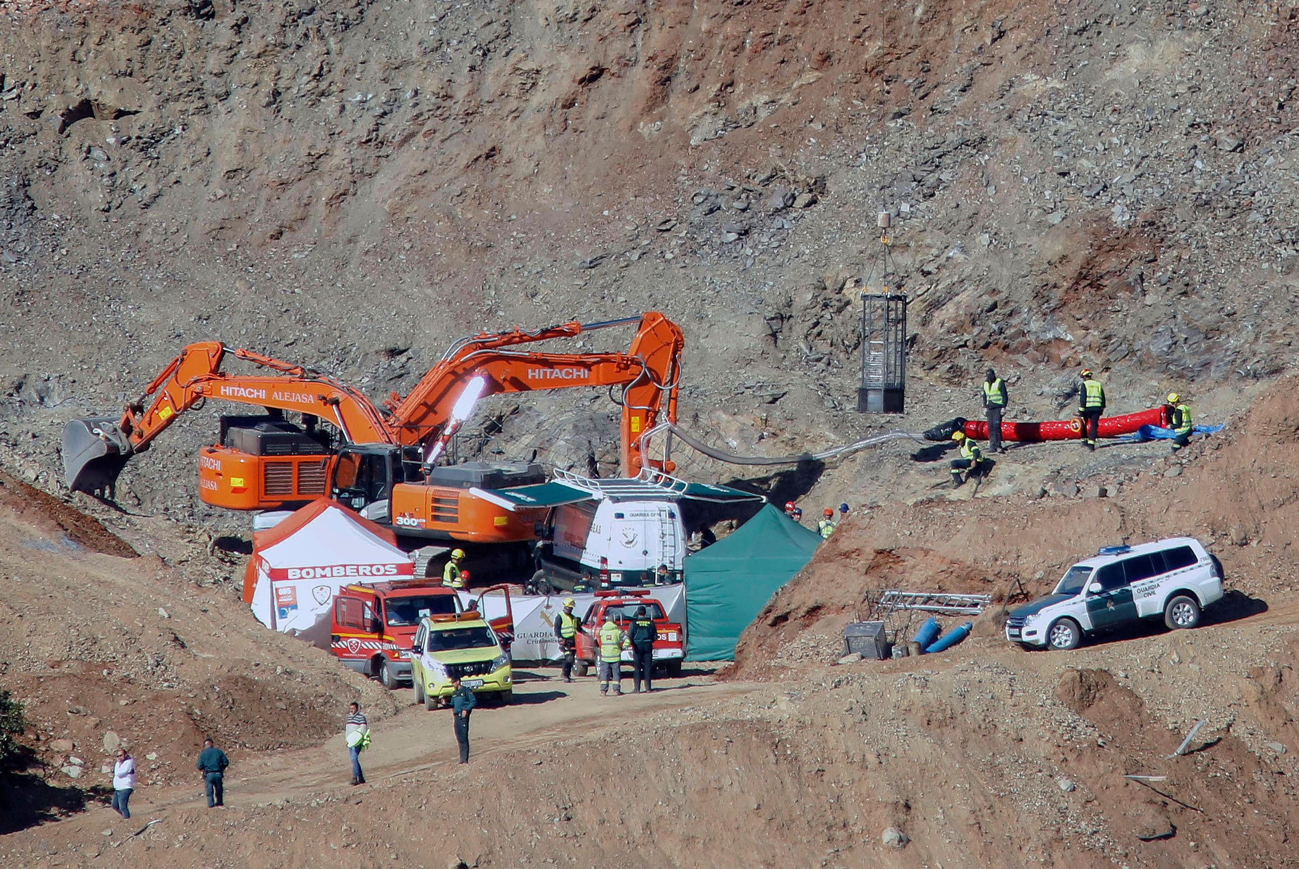 Boy, 2, Found Dead Inside 110-Meter-Deep Well In Spain After 13-Day Search