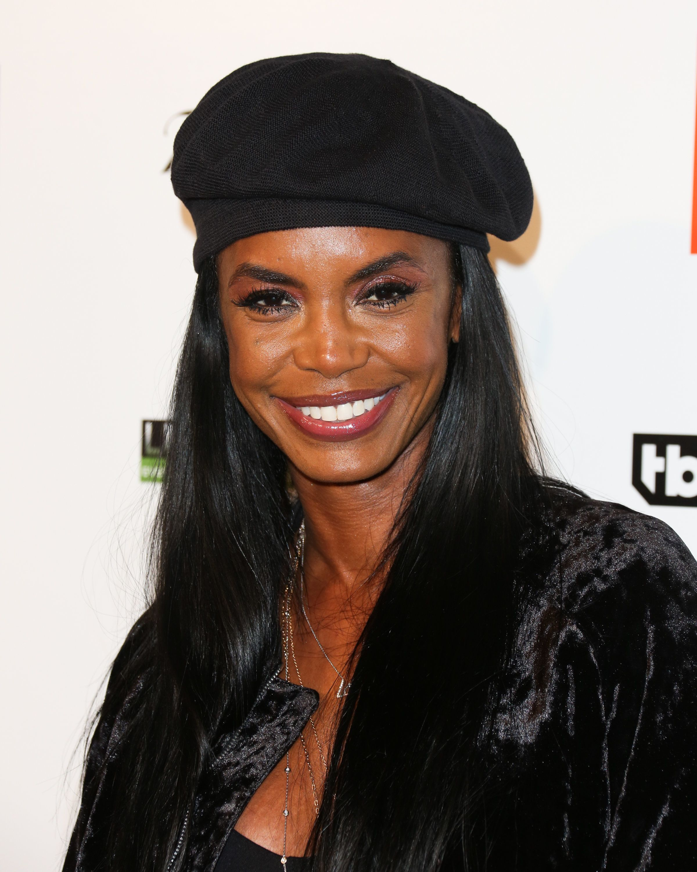 HOLLYWOOD, CA - FEBRUARY 16:  Actress / Model Kim Porter attends Kenny 'The Jet' Smith's annual All-Star bash presented By JBL at Paramount Studios on February 16, 2018 in Hollywood, California.  (Photo by Paul Archuleta/Getty Images)