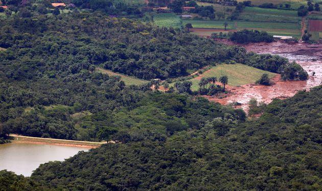 Brumadinho: Antes e depois do rompimento da barragem da Mina do