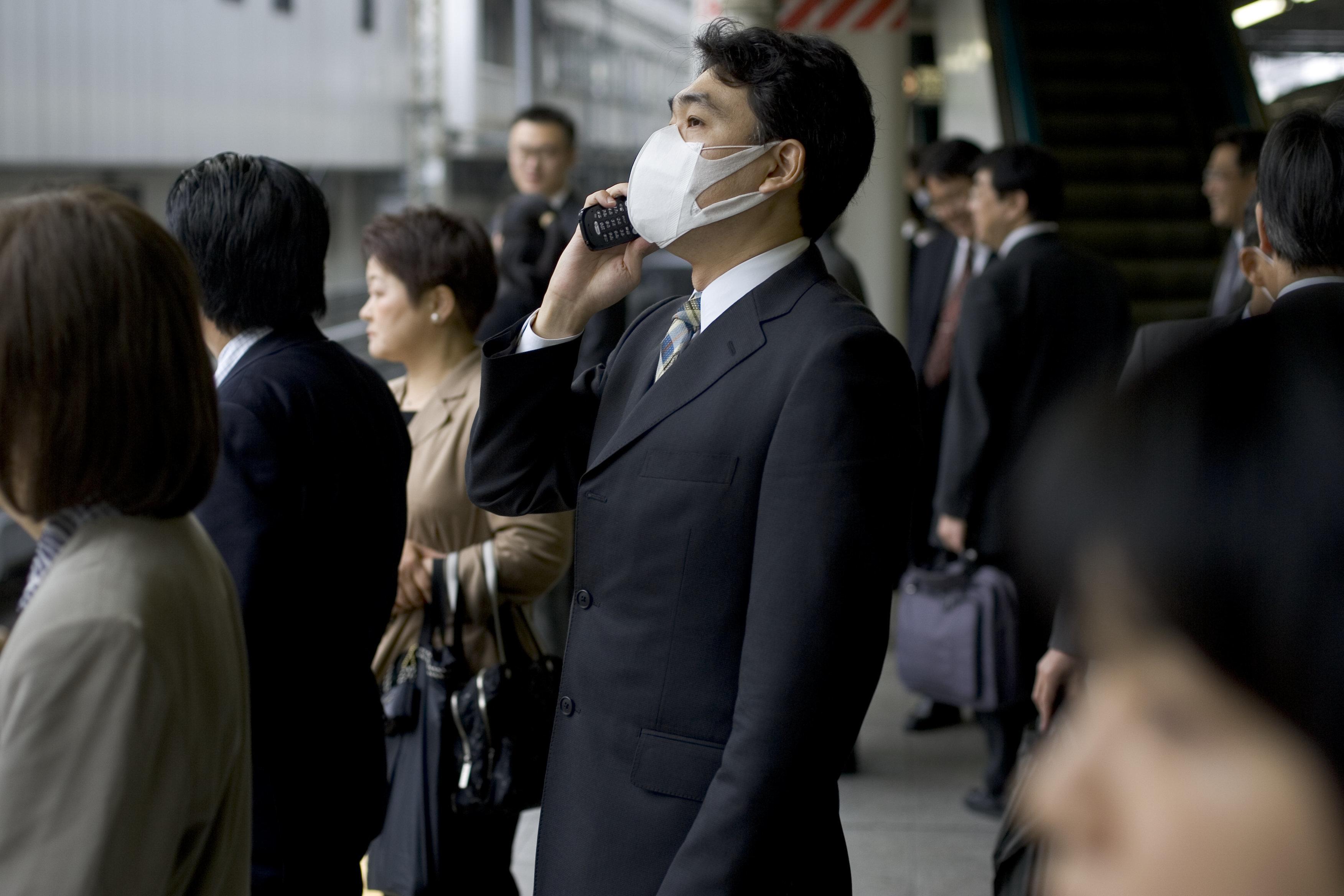 일본 독감 유행에 대한 한국 보건당국의