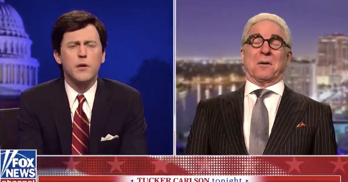 Steve Martin's Wild And Crazy Roger Stone Pleads With Trump On 'SNL': Pardon Me! thumbnail