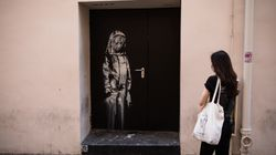 Γαλλία: Εκλάπη τοιχογραφία του Banksy που βρισκόταν στην έξοδο κινδύνου του