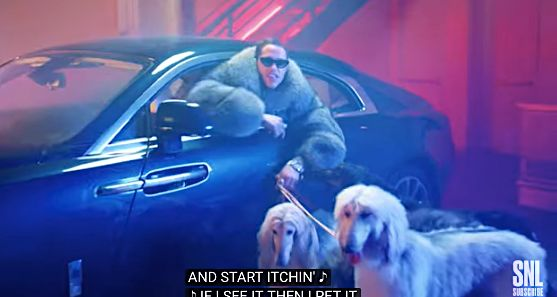 'SNL' bitch rap is about Fido.