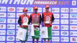 30ème Marathon international de Marrakech: Les athlètes éthiopiens