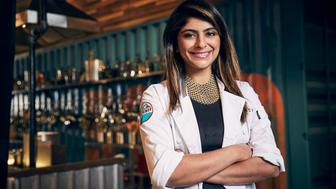 "Fatima Ali competes on ""Top Chef"" in 2017. (Photo: Tommy Garcia/Bravo/NBCU Photo Bank via Getty Images)"