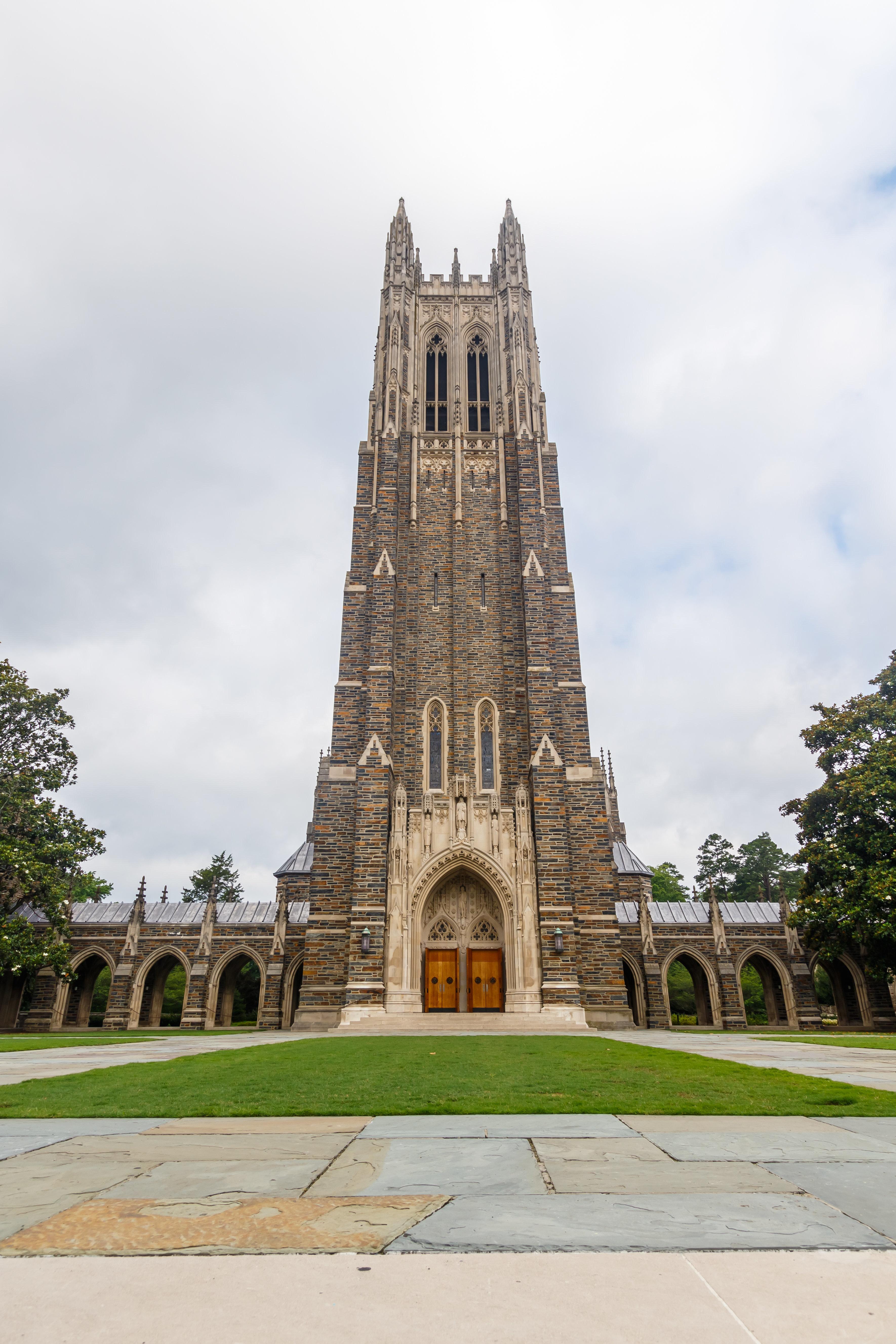 Duke Chapel on June, 18, 2017 at Duke University in Durham, North Carolina.