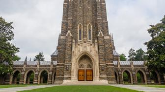 Duke Chapel on June, 18, 2017 at Duke University in Durham, North Carolina.
