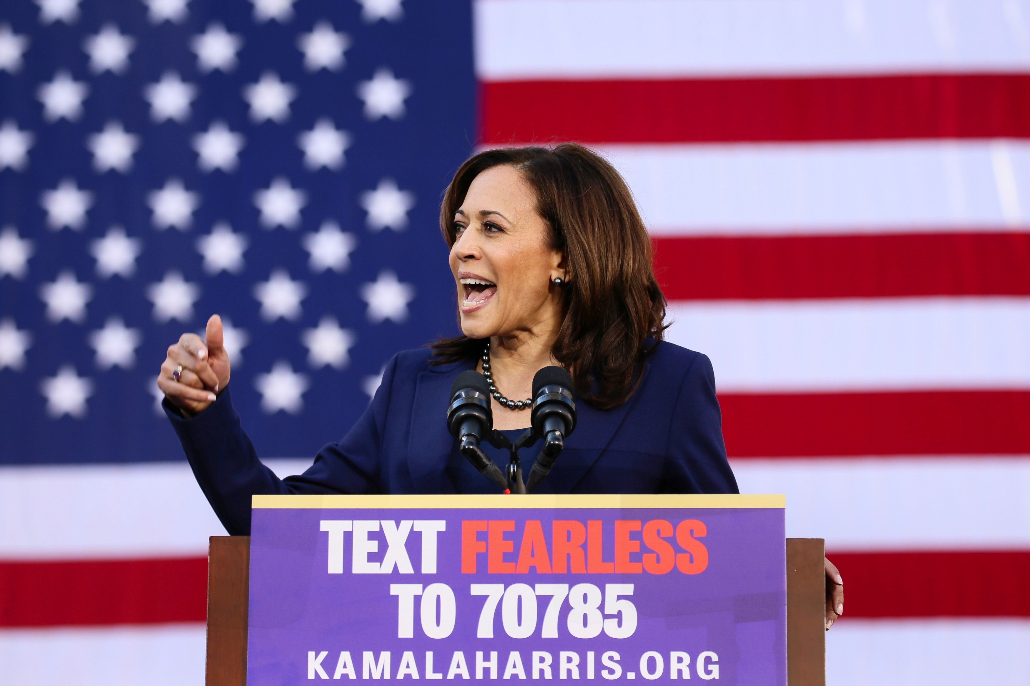 Kamala Harris Kicks Off Her 2020 Campaign With Vow To Fight 'For The