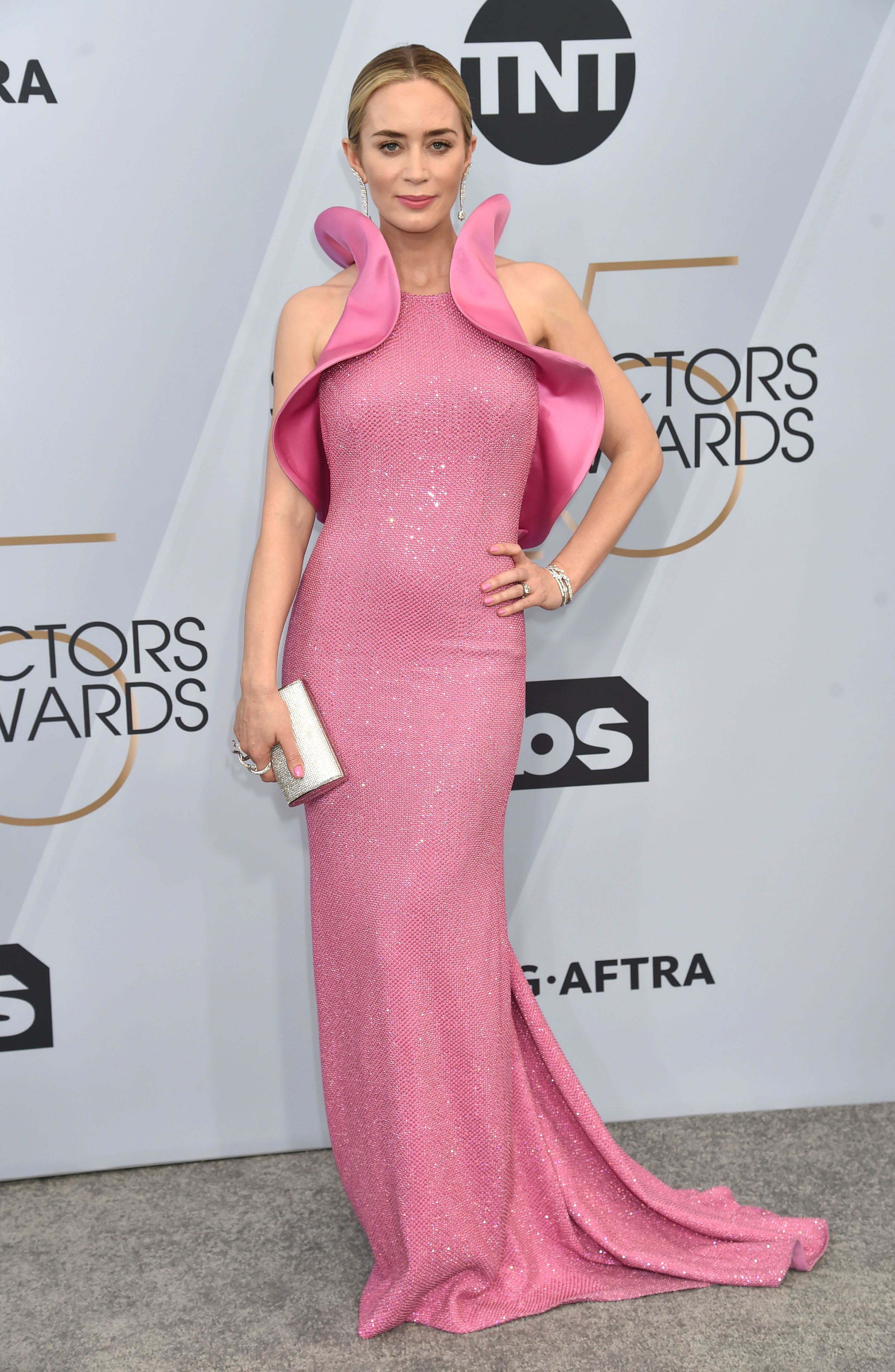 Emily Blunt's Pink 'Vagina Dress' Has People On Twitter In A