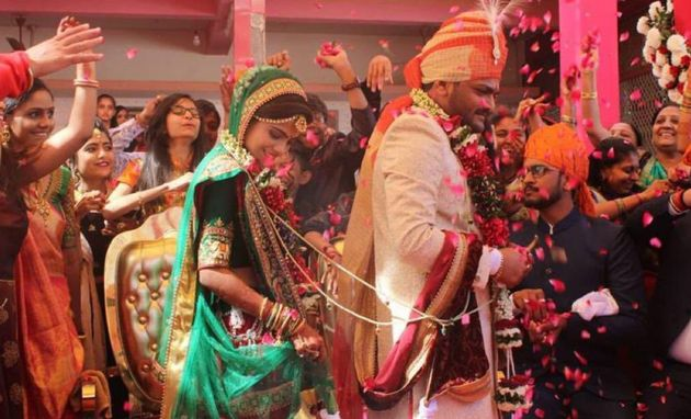Hardik Patel Marries Childhood Friend In
