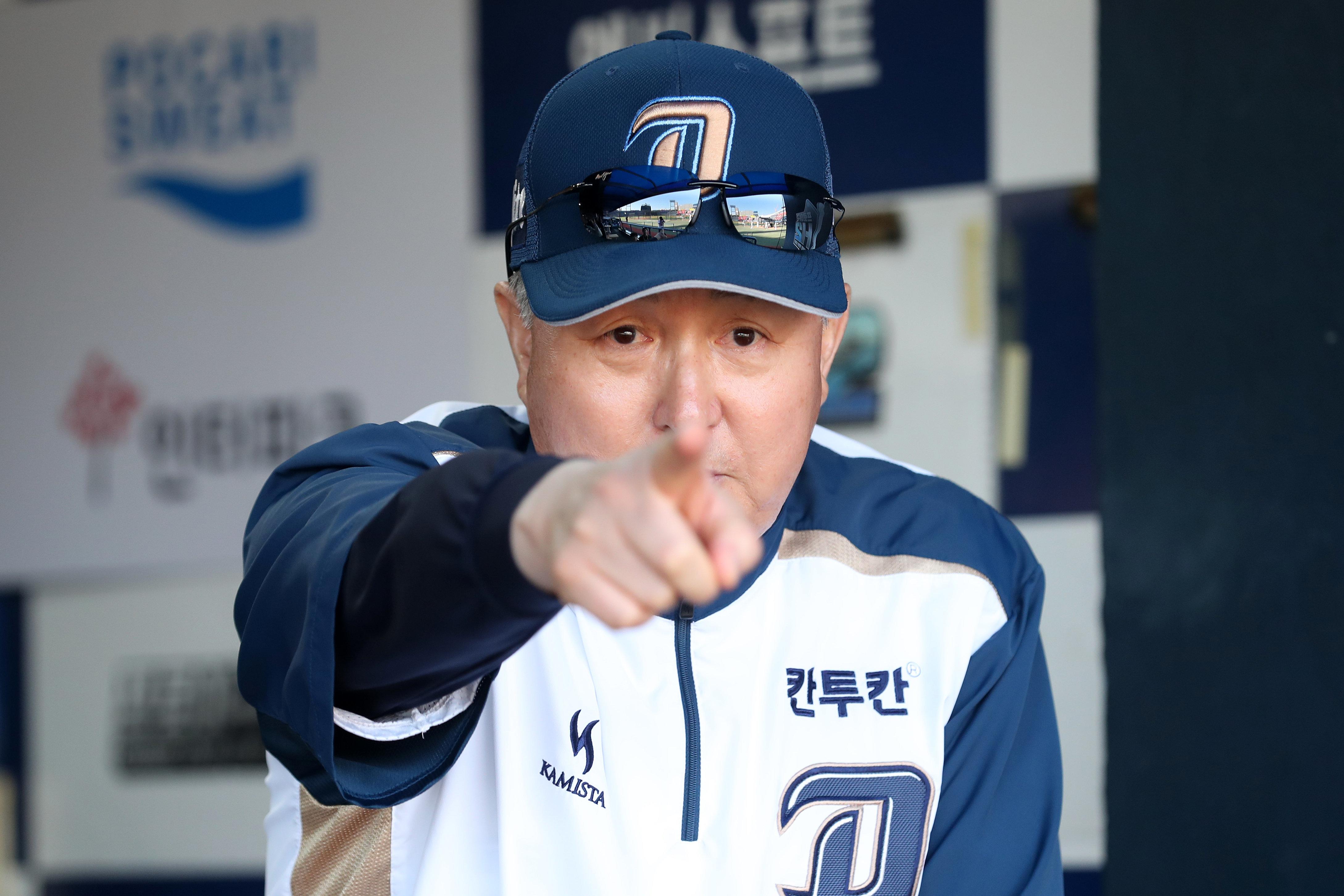 야구 대표팀 신임 김경문 감독이 소감을