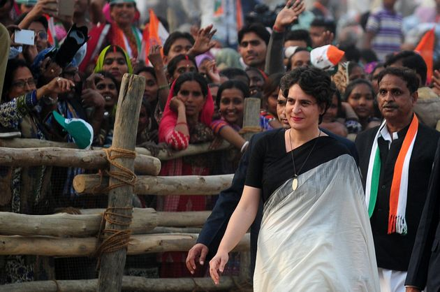 BJP's Remarks On Priyanka Gandhi Are Sexist, But The Congress Is No