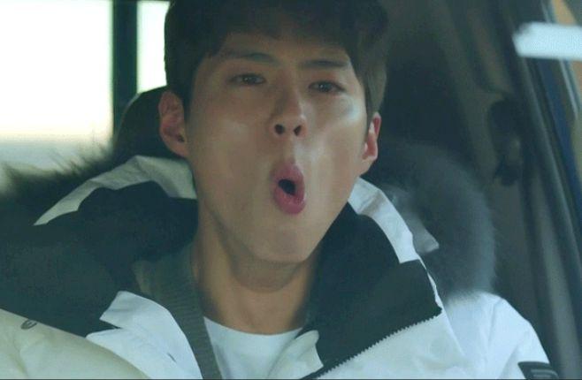 박보검이 '하품 연기'에 대해 한
