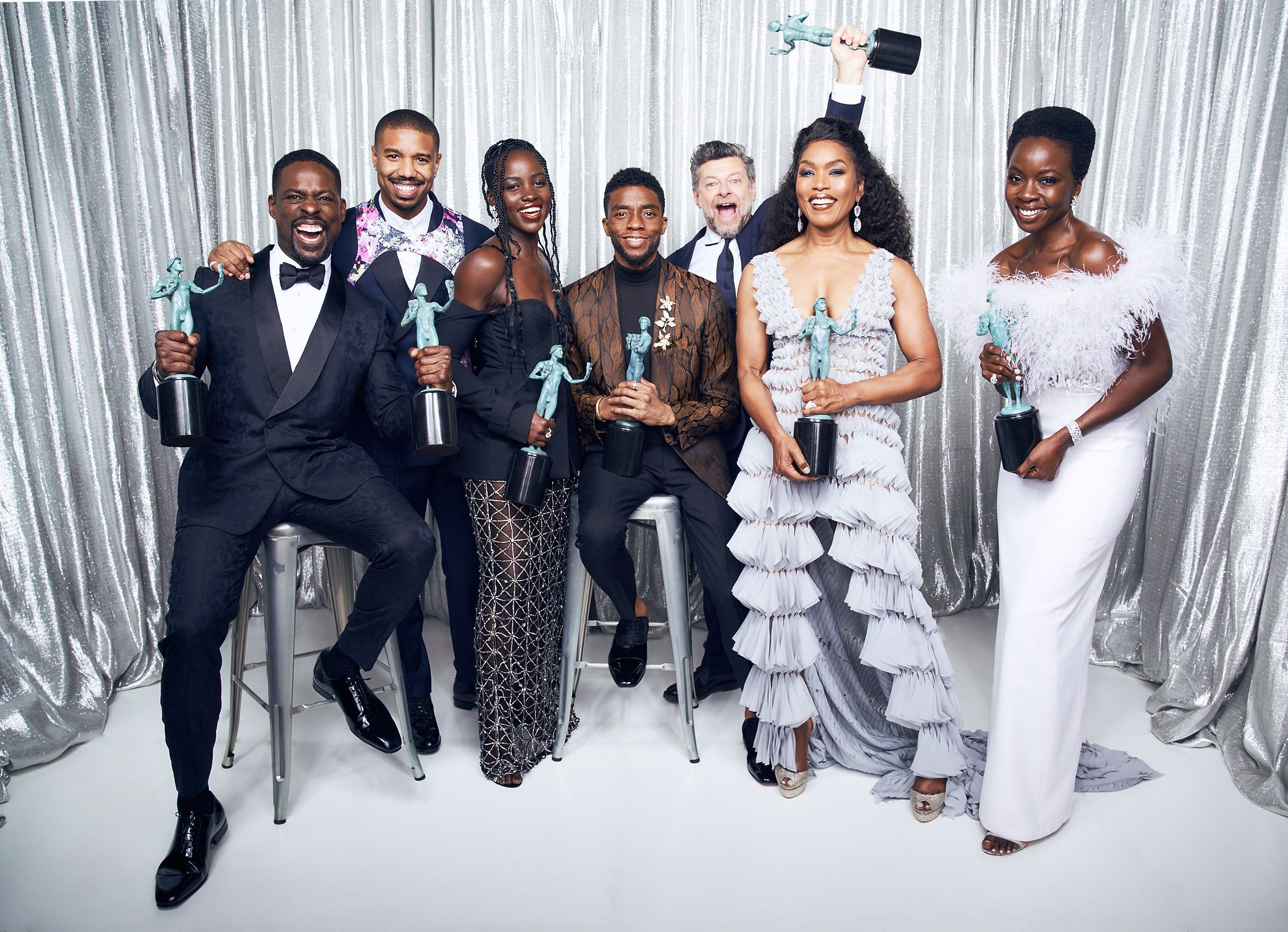 'Black Panther' Makes SAG Awards History, Prompting Poignant Acceptance
