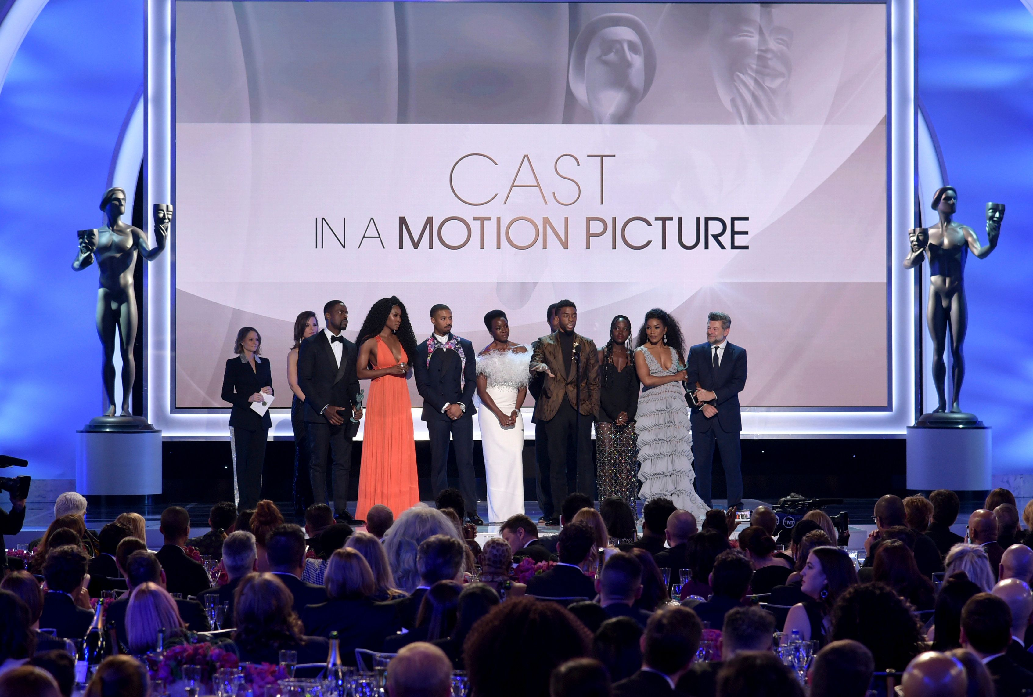 Βραβεία SAG: «Μαύρος Πάνθηρας», Γκλεν Κλόουζ και Ράμι Μάλεκ οι μεγάλοι