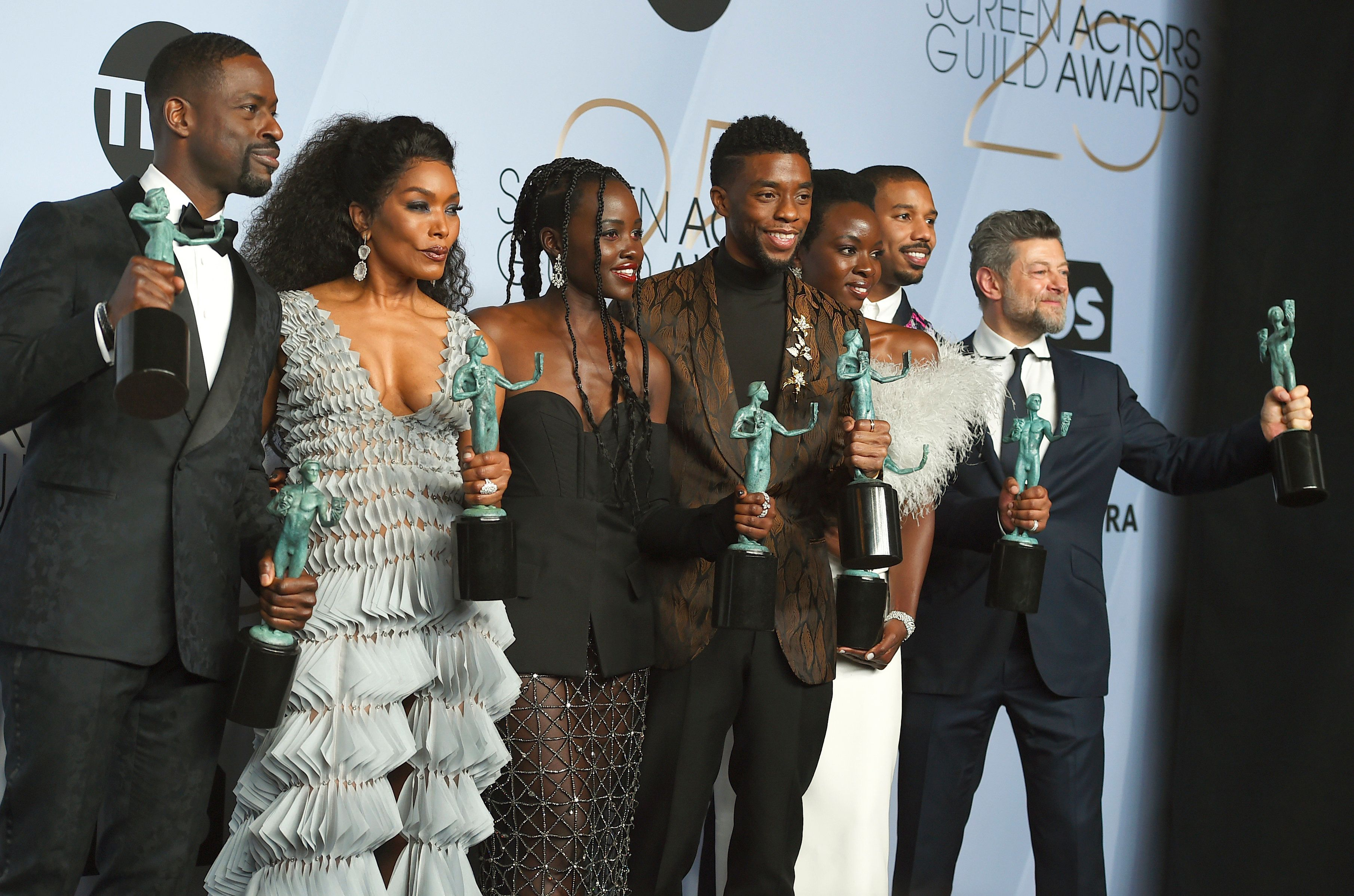 'Black Panther' Wins Big At SAG