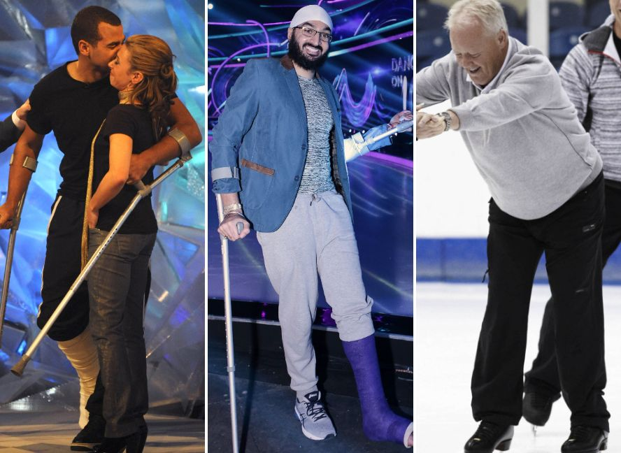 8 Times A Dancing On Ice Star Has Had To Bow Out Early Due To