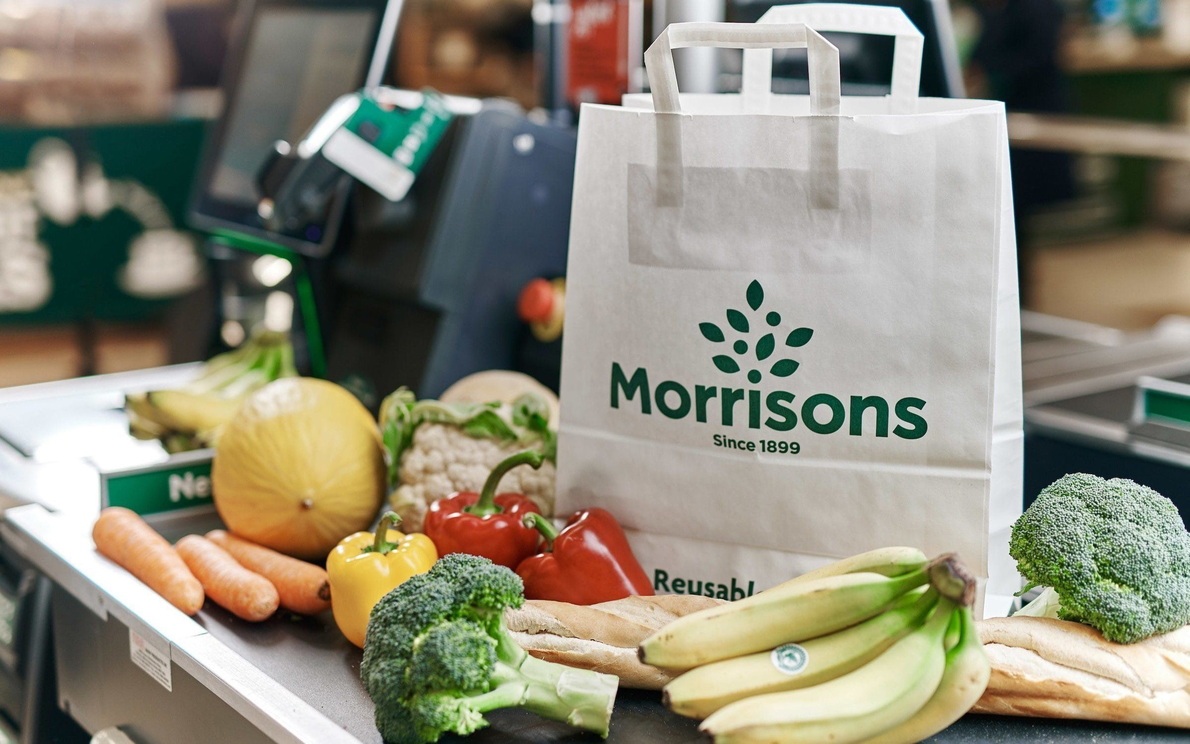 Trying To Ditch Plastic? Morrisons Is Trialling 20p Paper