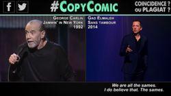 CopyComic frappe une nouvelle fois Gad Elmaleh en dénonçant d'autres