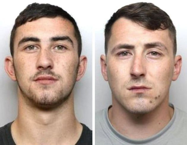 Elliott and Declan Bower in pictures released by police regarding a separate matter in