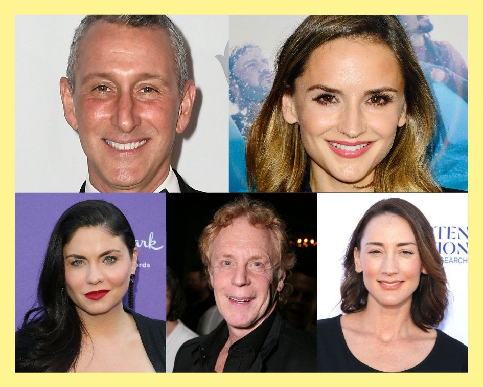 Clockwise from left: Adam Shankman, Rachael Leigh Cook, Bree Turner, Robert Iscove and Jodi Lyn O'Keefe.