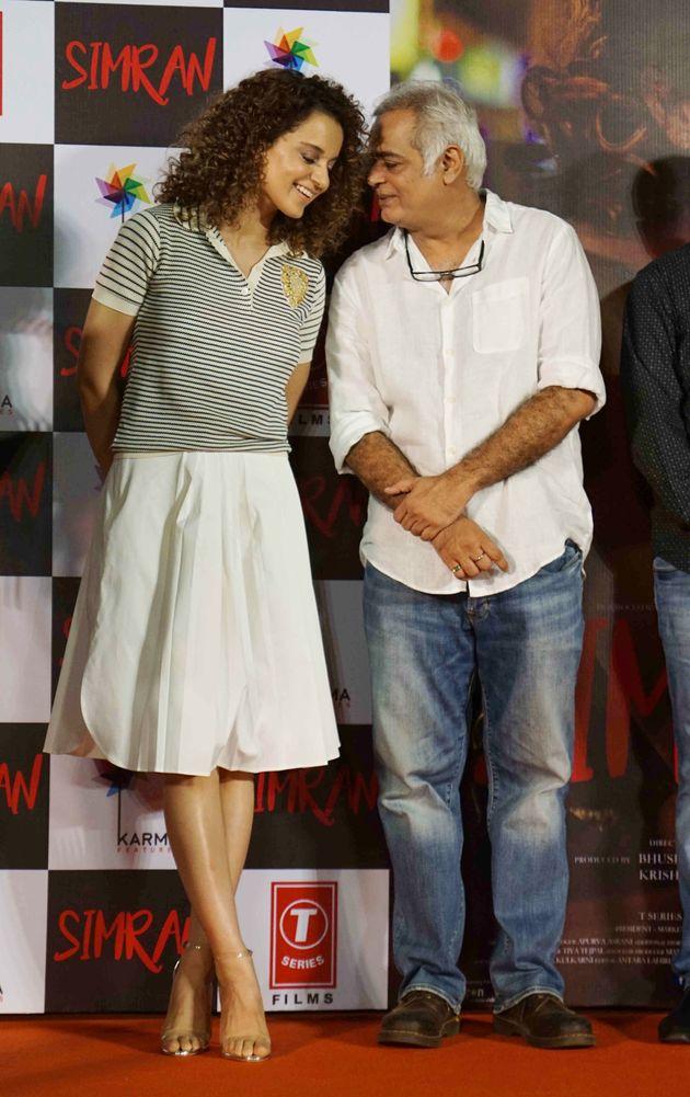 'Simran' Director Hansal Mehta Breaks Year-Long Silence On Fallout With Kangana