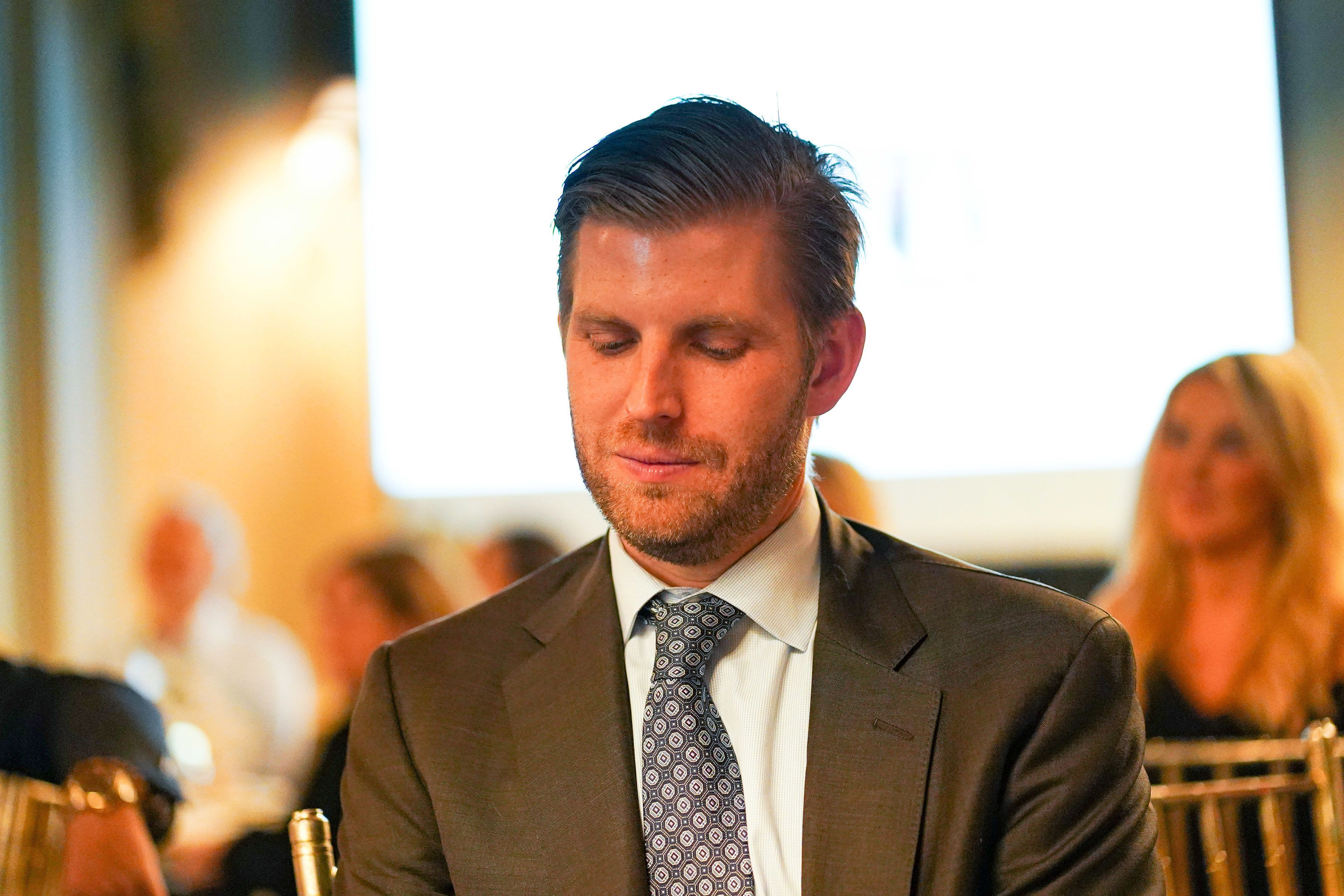 NEW YORK, NY - OCTOBER 09:  Eric Trump attends Rescue Dogs Rock NYC Inaugural Benefit 2018 at The Harmonie Club on October 9, 2018 in New York City.  (Photo by Sean Zanni/Patrick McMullan via Getty Images)