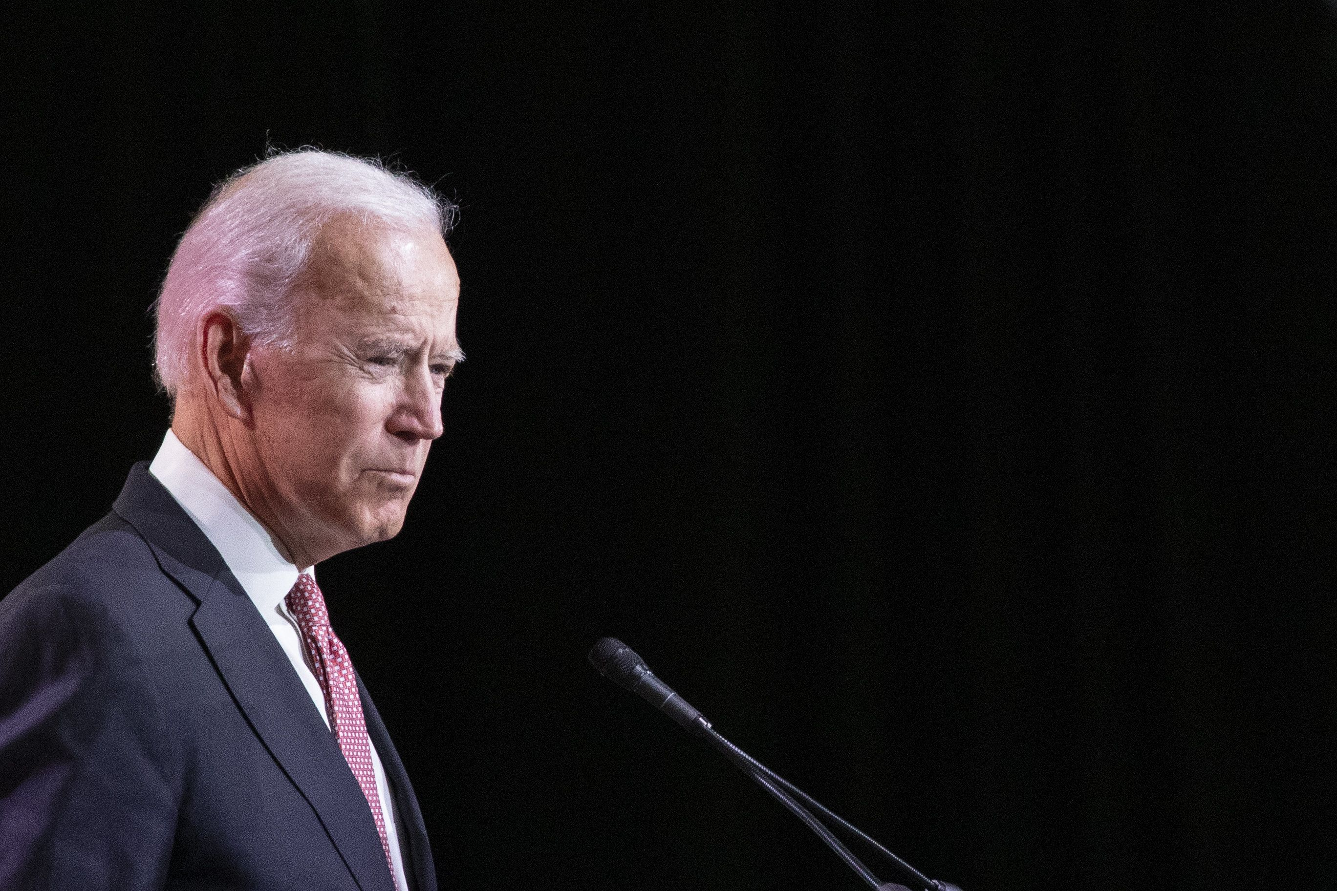 Former Vice President Joe Biden has long advocated for women's rights.