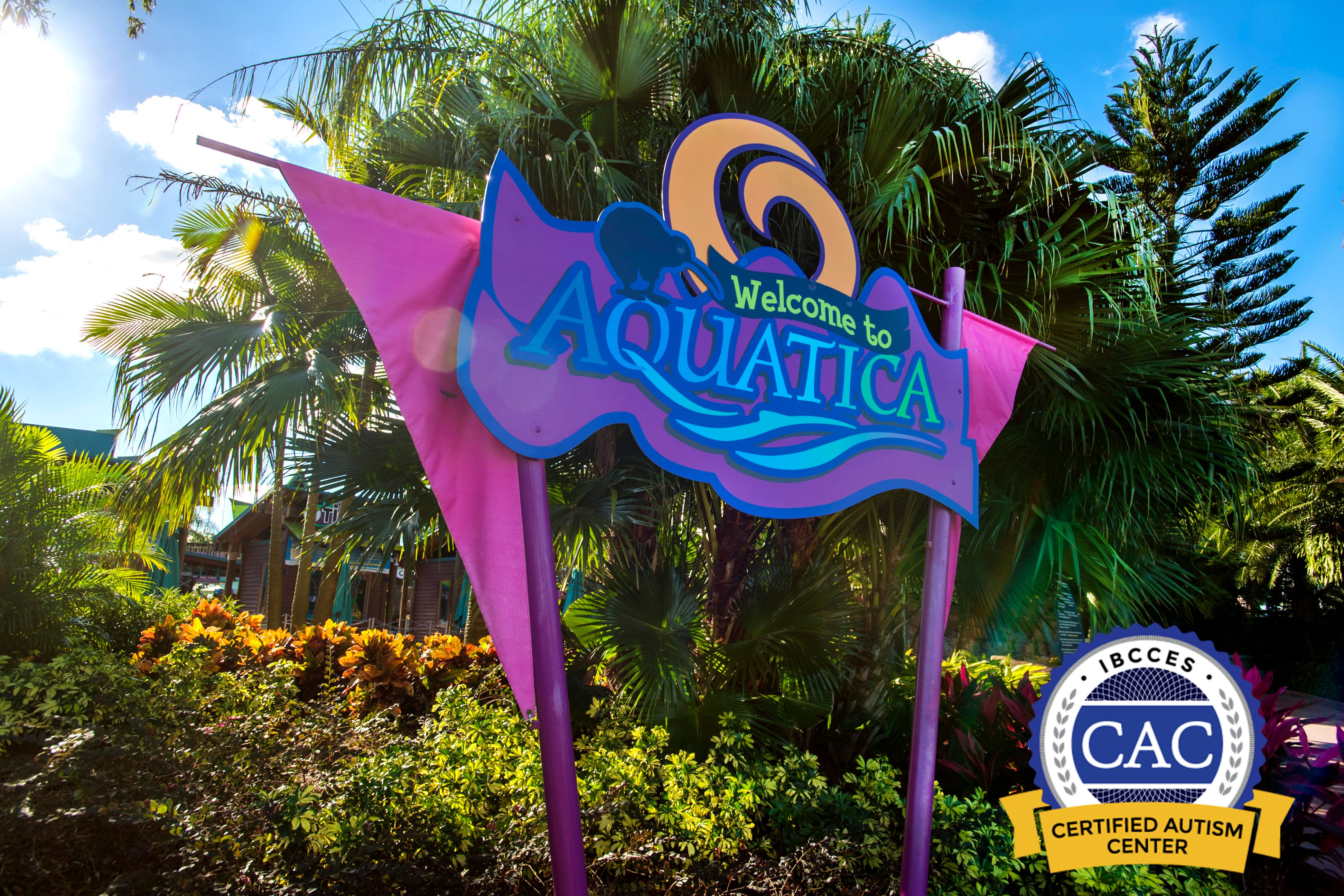 Aquatica Orlando became the first water park designated as a certified autism center by the International Board of Credentialing and Continuing Education Standards.