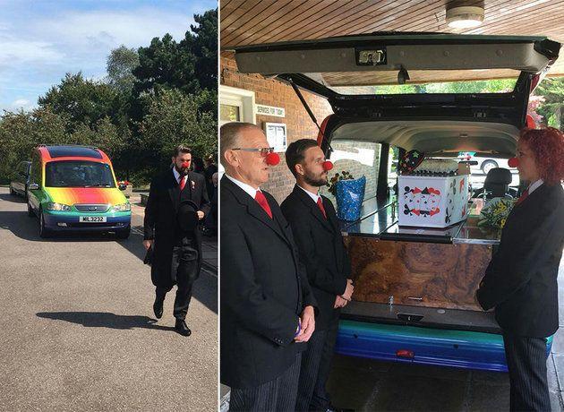 영국에서 이상하고 재미있는 장례식이 생겨나고