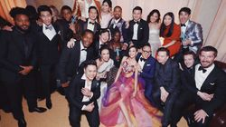 'Black Panther' And 'Crazy Rich Asians' Casts Hung Out At SAG