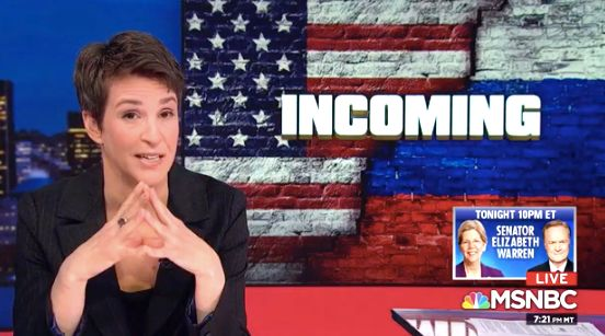 Rachel Maddow believes Trump may have actually seen taped-up women ... on Sicario.