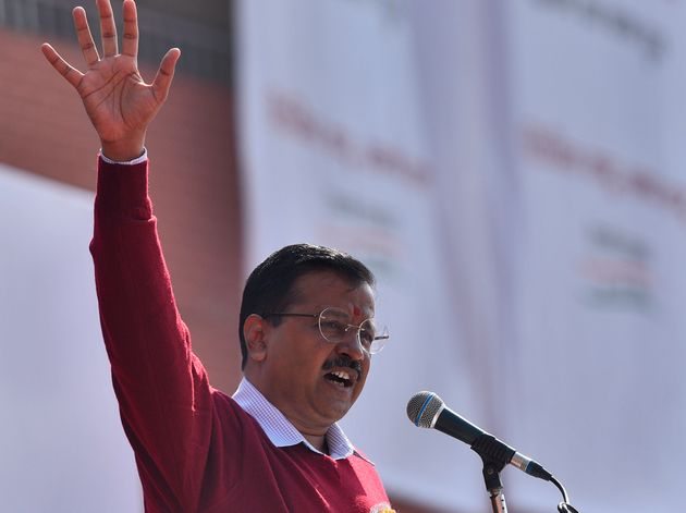 If You Love Your Child, Vote For AAP And Not Modi: Arvind Kejriwal At School