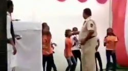 Nagpur Cop Suspended After Video Of Him Showering School Girls With Cash Went