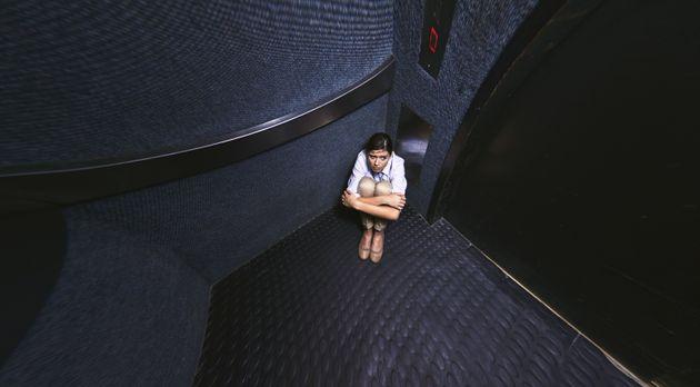 Παγιδεύτηκε σε ασανσέρ το βράδυ της Παρασκευής και βγήκε την