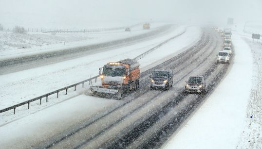 Weather Warnings Extended As Snow Ploughs Scramble To Clear