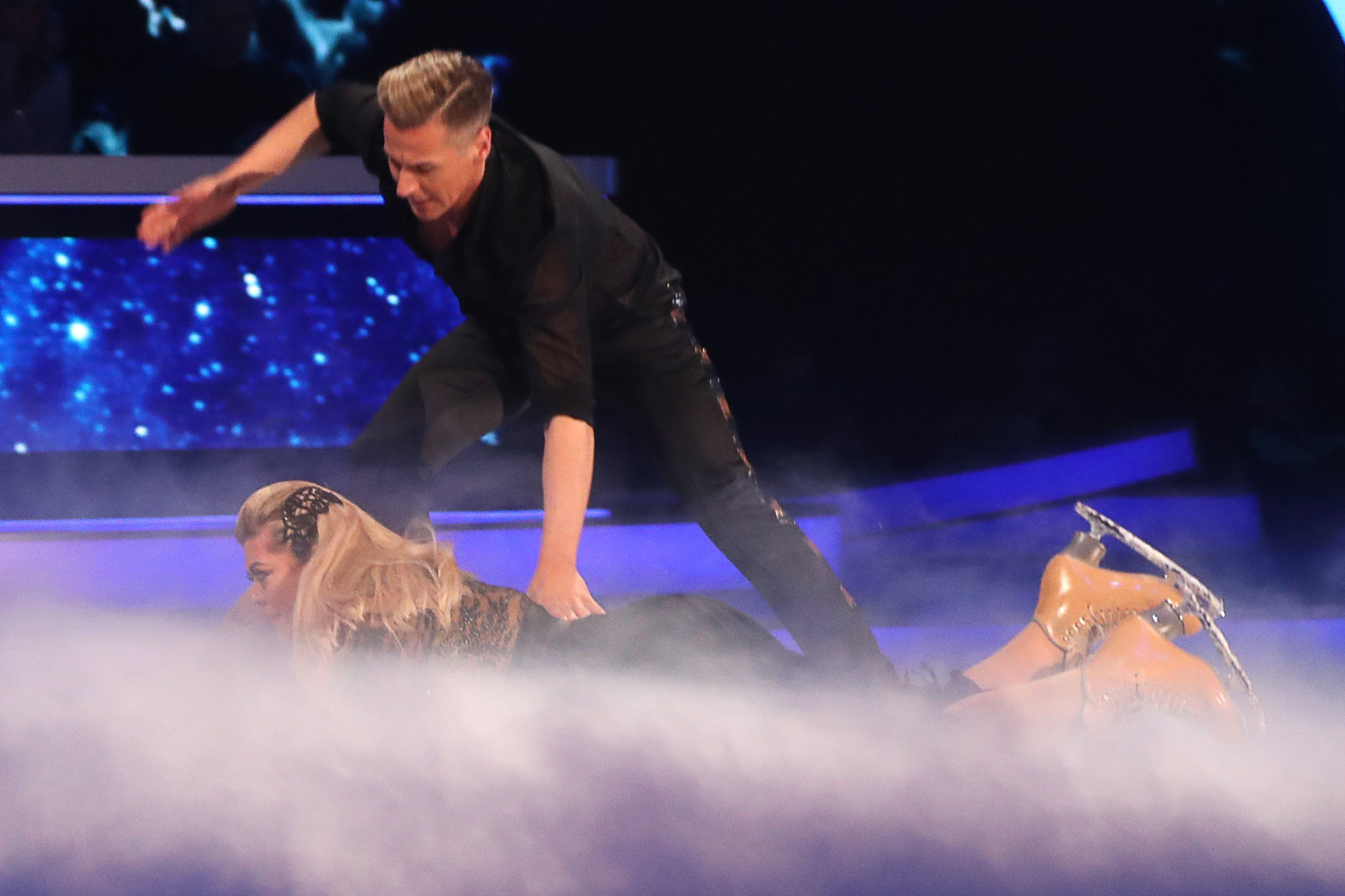 Gemma Collins thinks a 'blackout' caused Dancing On Ice fall